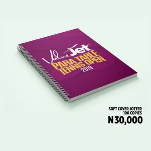 soft cover jotter